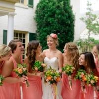 VFall bridesmaids